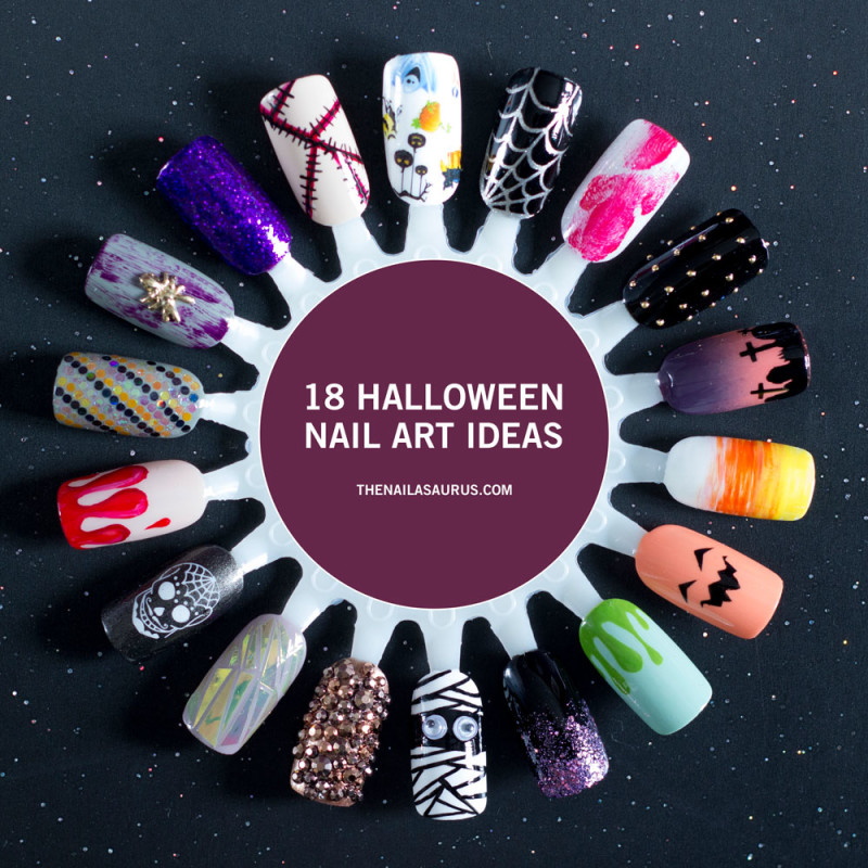 The Nailasaurus | UK Nail Art Blog - 18 Halloween Nail Art ...