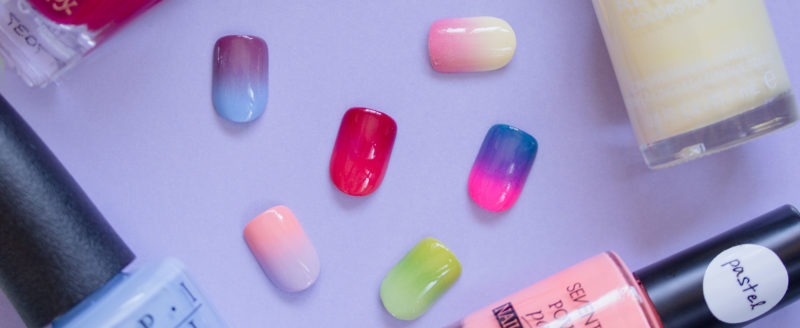 6 Fresh Colour Combos for Your Summer Gradient Nail Art