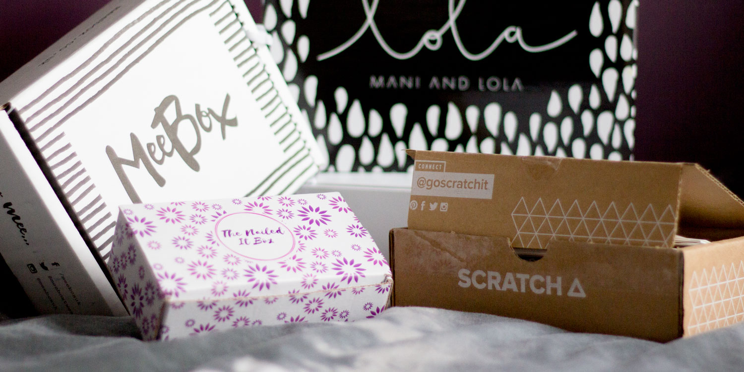 The Nailasaurus Uk Nail Art Blog All The Nail Subscription Boxes To Try In 2018 The